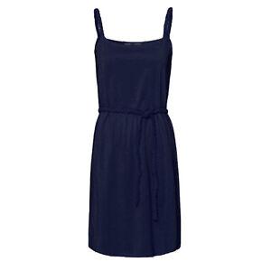 genial-Marken-Kleid-Gr-34-36-XS-S-Sommerkleid-Jersey-Shirtkleid-NAVY-BLAU-Zoepfe