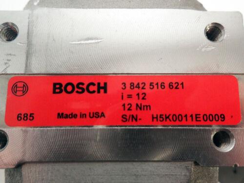 BOSCH 3 842 516 621 GEAR BOX DRIVE REDUCER 1437600 i=12 12Nm