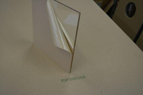 "Acrylic Sheet 1//4/"" Clear Plexiglass 24 x 24"