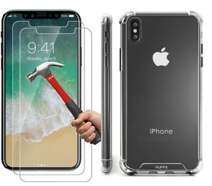 Case-and-2PK-Screen-Protectors-for-iPhone-XR-X-Xs-Max-6-6S-7-Plus-8-Plus-Clear
