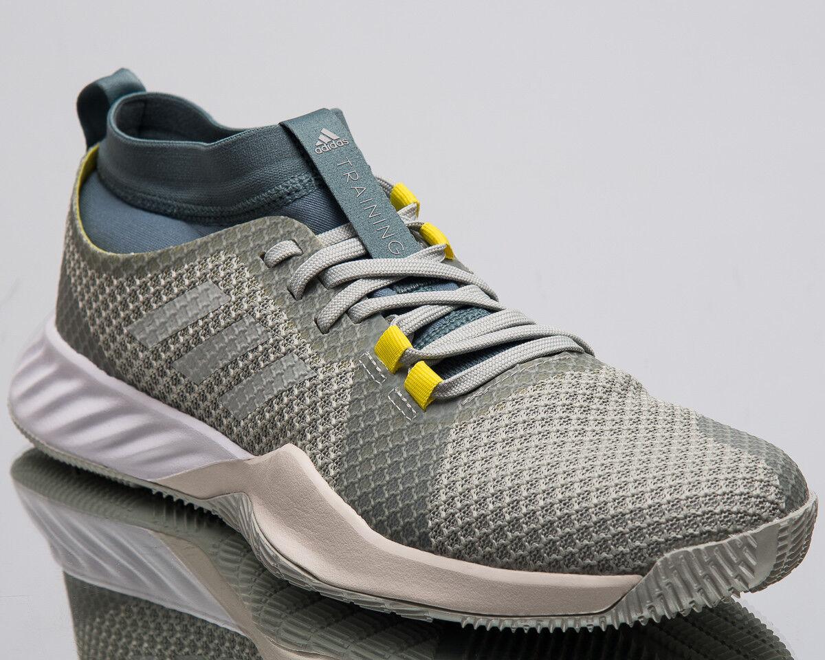 adidas CrazyTrain New Pro 3.0 M Men New CrazyTrain Faded Grey Green Training Sneakers AQ0415 4adf1e