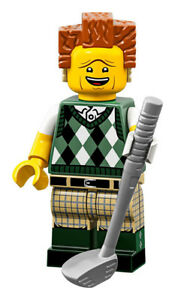 LEGO The Lego Movie 2 71023 Gone Golfin/' President Business Minifigure No 12