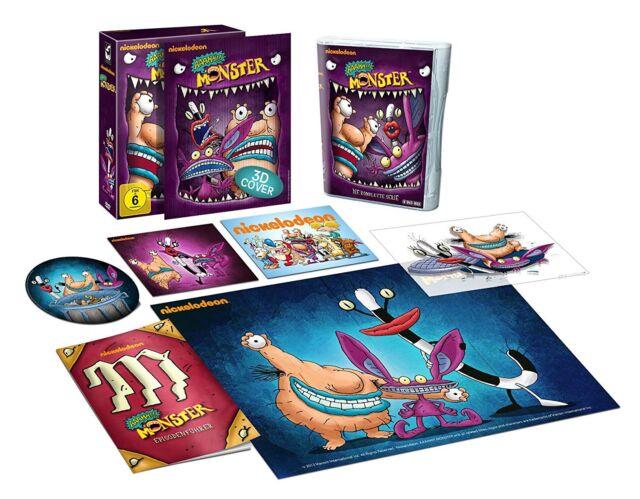 Boîte DVD - Aaahh Monster - la Série Complète - 8 Disques - Édition Limitée
