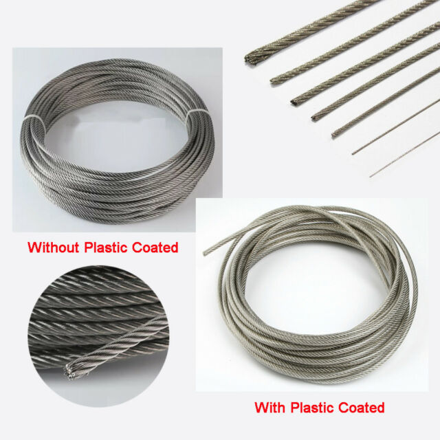 Electrical Wire Cable 4mm flexible cable pull tool Pull Wire Cable Rigging