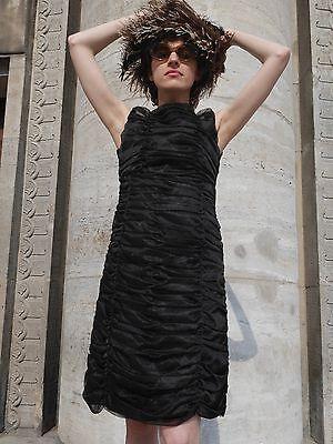 """Adema Modelli """"piccolo Nero"""" Abito S 60er True Vintage Little Black Dress-mostra Il Titolo Originale Distintivo Per Le Sue Proprietà Tradizionali"""