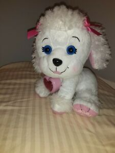 Cabbage-Patch-Kids-Adoptimals-White-Poodle-Panting-Barking-Plush-Puppy-Dog-CPK