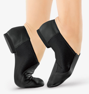 So Danca JZ-43 Size 13.5S B Girl's Youth Split Sole Slip On Jazz Dance shoes