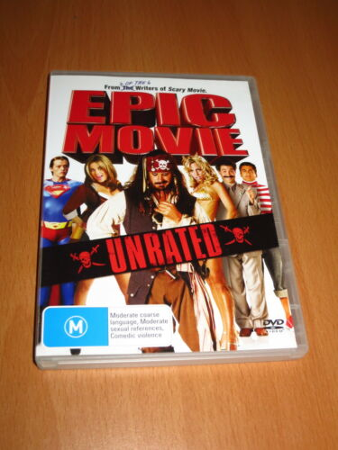 1 of 1 - EPIC MOVIE - UNRATED ( DVD , 2007 ) [ R4 ] ~ EXCELLENT !