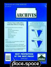 """50 GOLDEN AGE COMIC SIZE ARCHIVES MYLAR SLEEVES 8"""" x 10 1/2"""" (SUPPLY607)"""