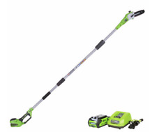 CORDLESS ELECTRIC TREE POLE SAW CHAINSAW PRUNER TELESCOPING BRANCH TRIMMER 2Ah