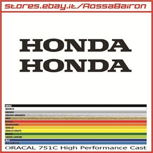 KIT 2 ADHESIVOS HONDA RACING mm.300x30 MOTOGP PEGATINAS STICKERS DECALS