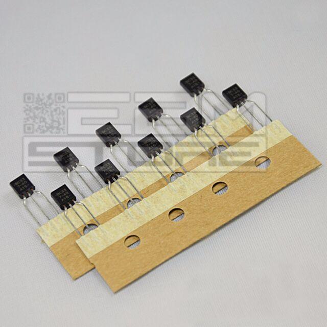 10 pz BUL6822A TRANSISTOR NPN 400V 0,8A 10W - BUL 6822 A - ART. DA31
