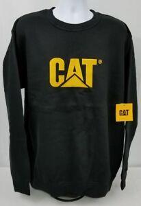a12ccab2 Image is loading CATERPILLAR-Logo-crew-neck-Sweatshirt-mens-size-2XL