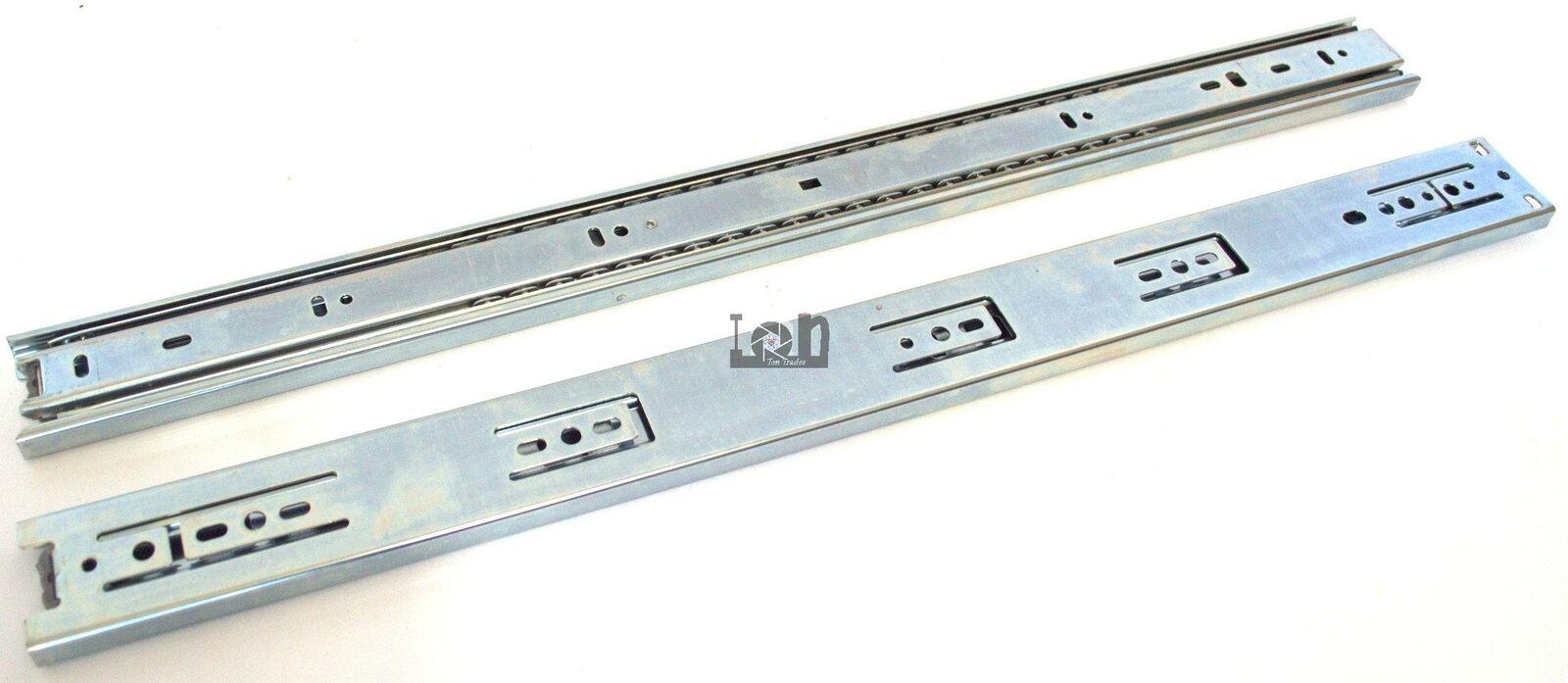 10pc LOT 22  55cm Pair of Full Extension Drawer Slide Cabinet Glide Ball Bearing