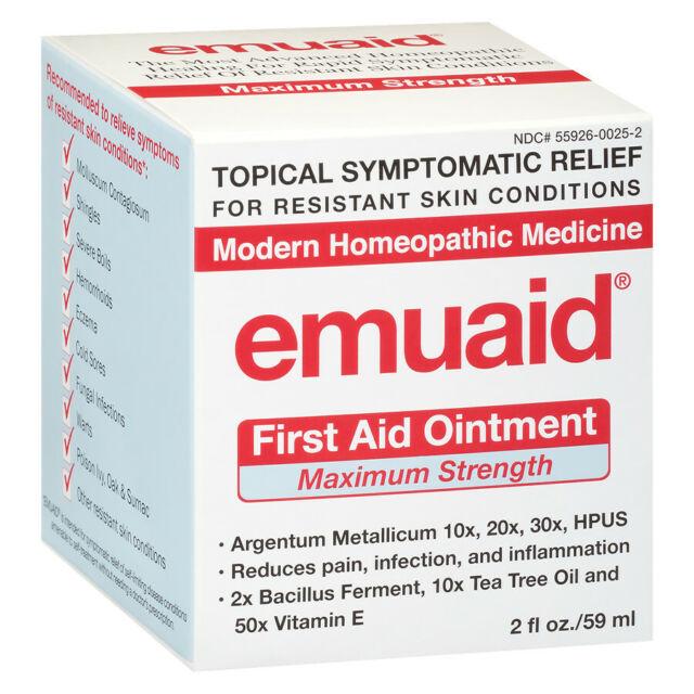 EMUAIDMAX 2oz 59ml EMUAID MAX First Aid Ointment Max Strength Cream. FREE POST