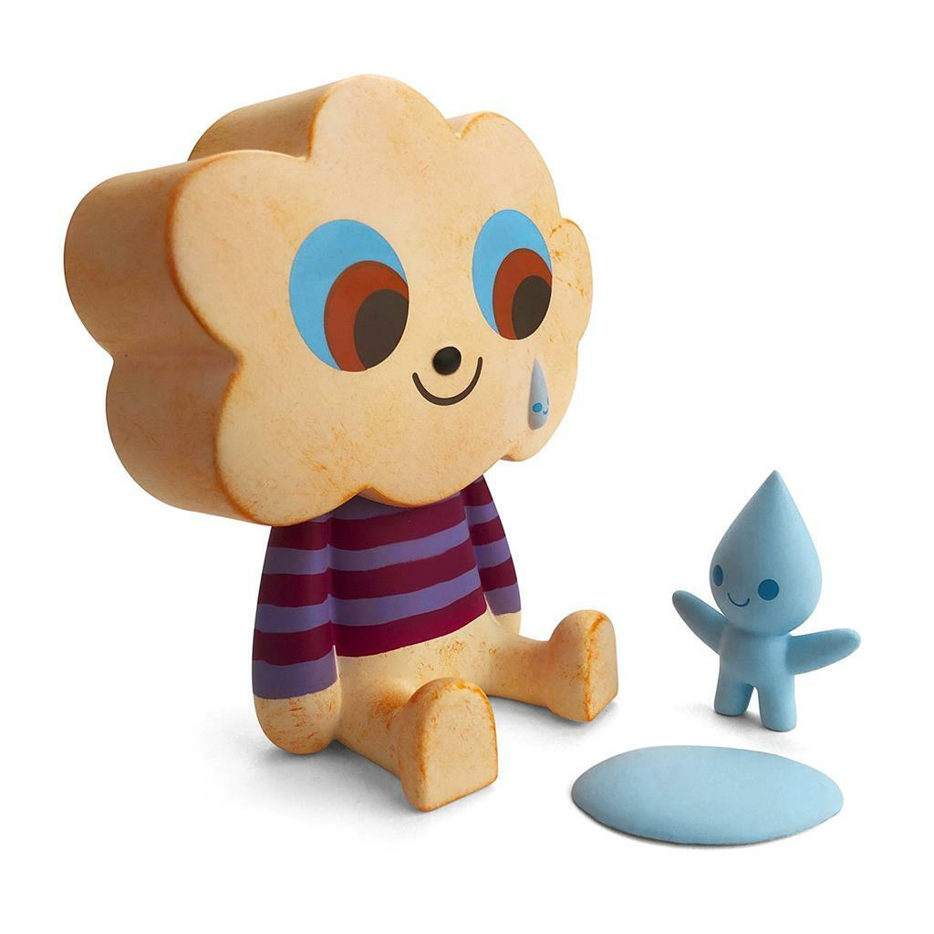 RAIN X SHINE VINYL TOY FIGURE BY FLUFFY HOUSE X AMANDA VISELL
