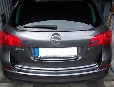 Opel ASTRA J Sports Tourer 10-15 Kombi - Chrom Zierleiste Heckleiste 3M Tuning