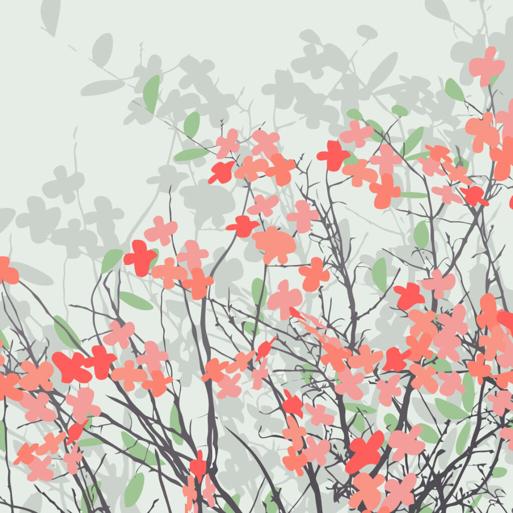 3D Branch Flowers 94 Wall Paper Wall Print Decal Wall Deco Indoor AJ Wall Paper