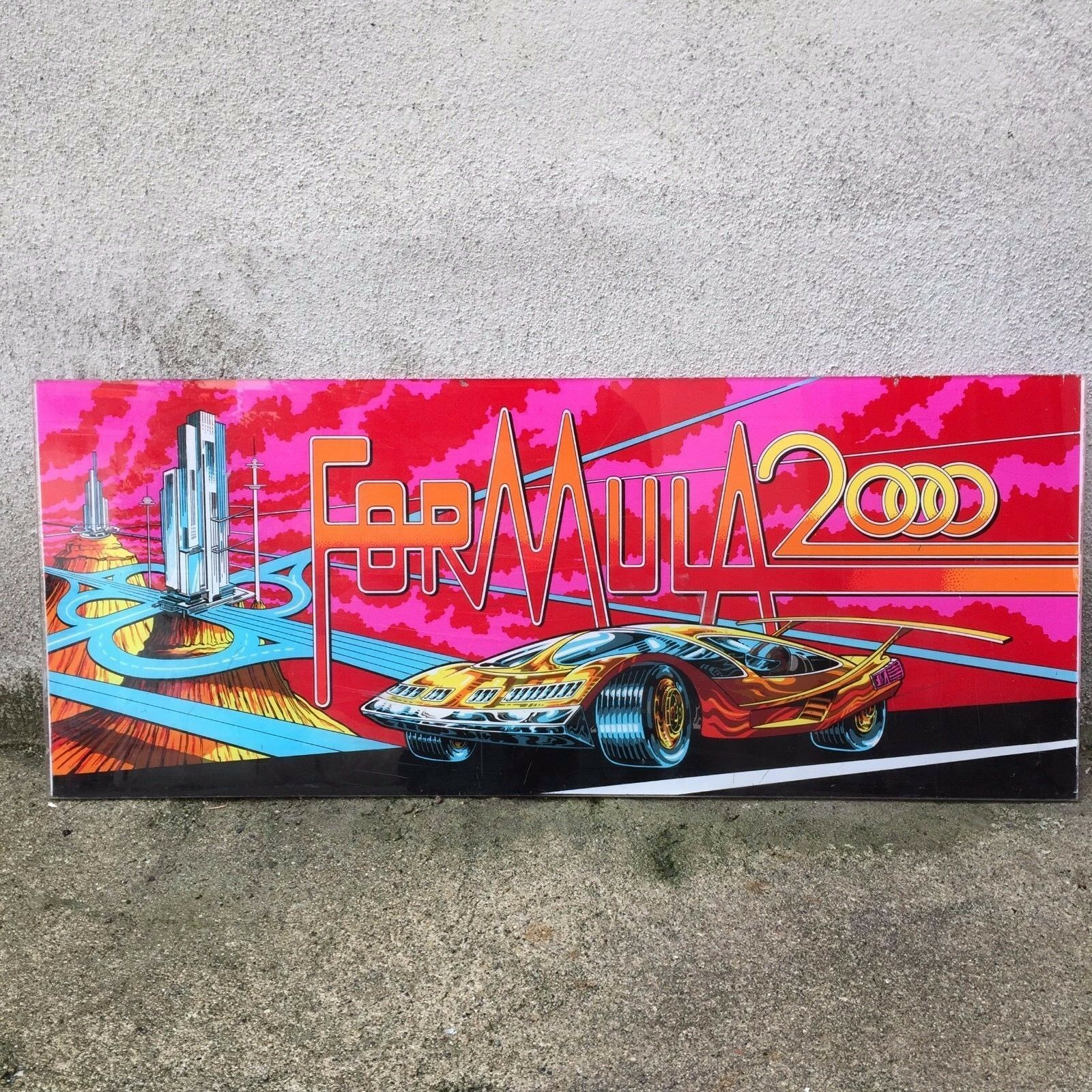 Board Arcade GAMES Formula 2000 flipper cafe deco