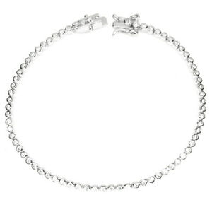 Round-1-5mm-Aaa-White-Cubic-Zirconia-925-Sterling-Silver-Bracelet-7