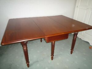 Antique Solid Mahogany Dining Table Early Victorian Ebay