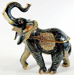 Elephant-Diamanti-Decorated-Jewelled-Trinket-Box