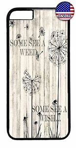 Cute-Dandelion-Life-Quote-Fashion-Case-Cover-For-iPhone-7-6-6s-Plus-5-5s-5c-4s