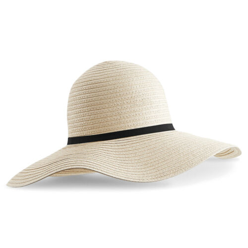 Beechfield Marbella Wide Brimmed Sun Hat Summer Stylish Domed casual//holiday