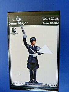 LAH-Black-Hawk-BH-0406-Drum-major-WWII-En-boite-Lead-soldier-Blackhawk