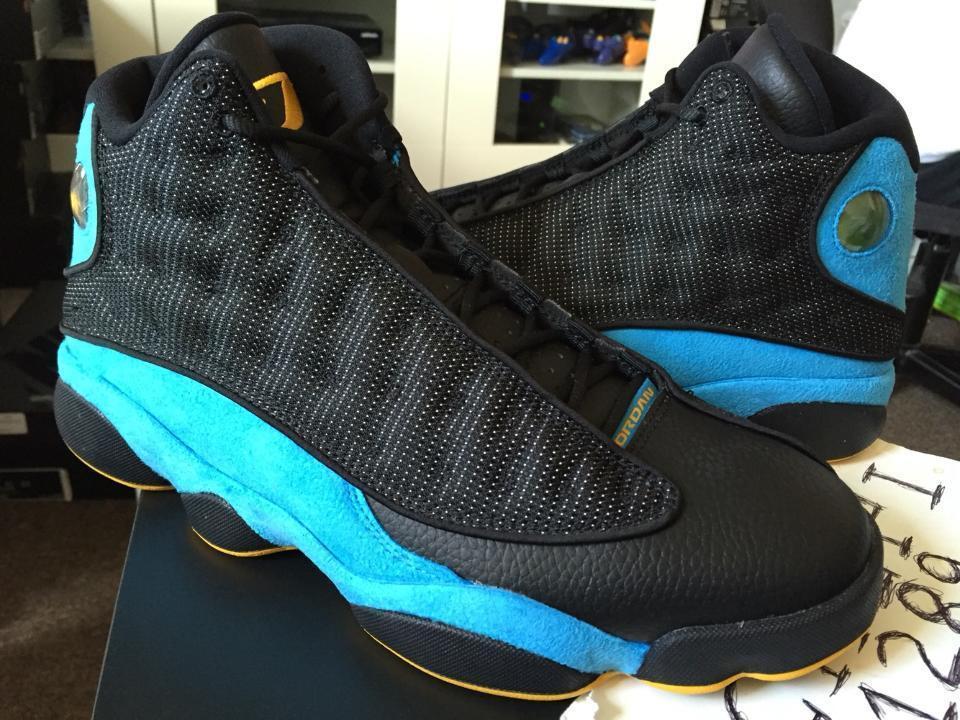 Nike Air Jordan Retro XIII 13 CP3 PE Chris Paul Hornets Sunstone Blue 823902-015