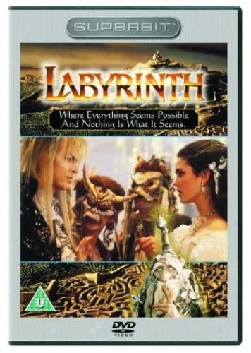 LABYRINTH SUPERBIT DAVID BOWIE JENNIFER CONNELLY COLUMBIA UK REGION 2 DVD L NEW
