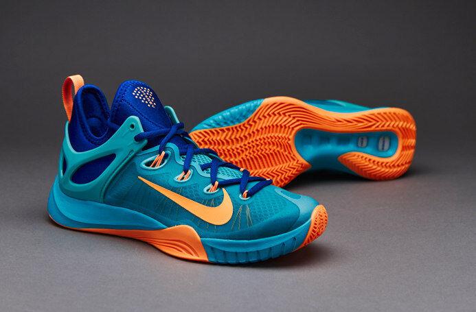 Nike zoom hyperrev 2015 uomini scarpe da basket 705370 484 seleziona la dimensione nuova palestra blu