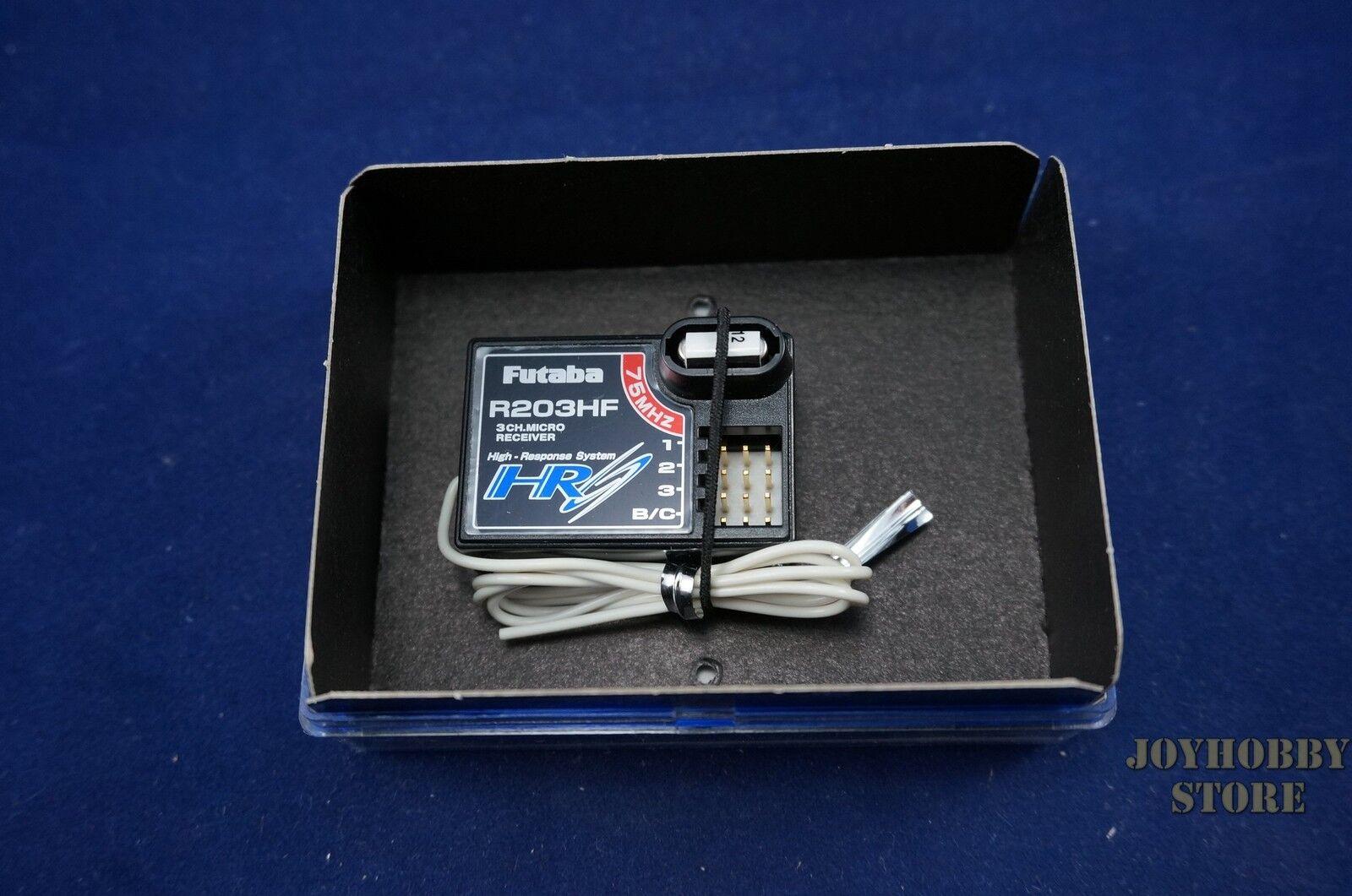 Futaba R203HF FM75 3 Channel High Response System Micro Receiver