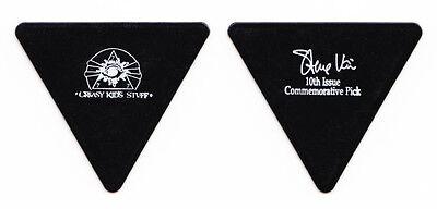 steve vai signature black triangle guitar pick 2 1990 passion tour ebay. Black Bedroom Furniture Sets. Home Design Ideas