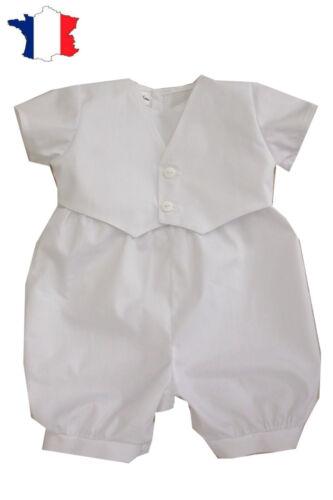 /%/% STEIFF Newborn Little Pirate shirt blanc bleu rayé taille 56-86 NEUF/%/%