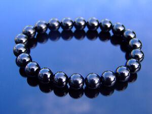 Morion Natural Gemstone Bracelet 6-9'' Elasticated Healing Stone Chakra Reiki