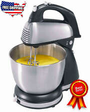 Classic Stand Mixer Hamilton Beach 6 Speed Electric Kitchen Dining Cake Bakery
