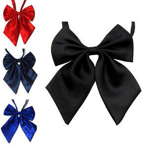 Cravate-Formelle-De-Noeud-Papillon-En-Soie-Pour-Femme-JE