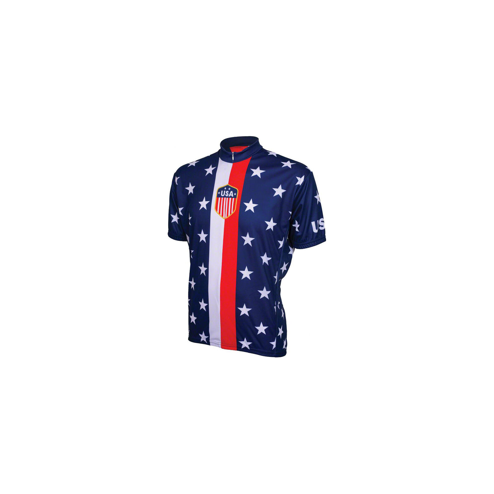 World Jerseys 1956 Retro USA Men's Cycling Jersey  Red  White bluee, LG  online at best price