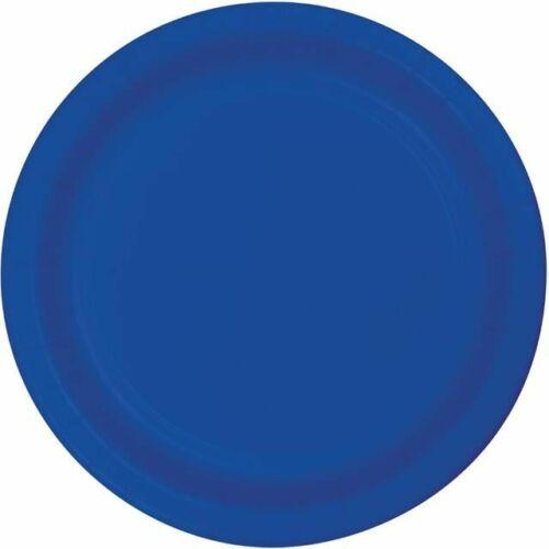 Bleu Cobalt Party Assiettes x 8