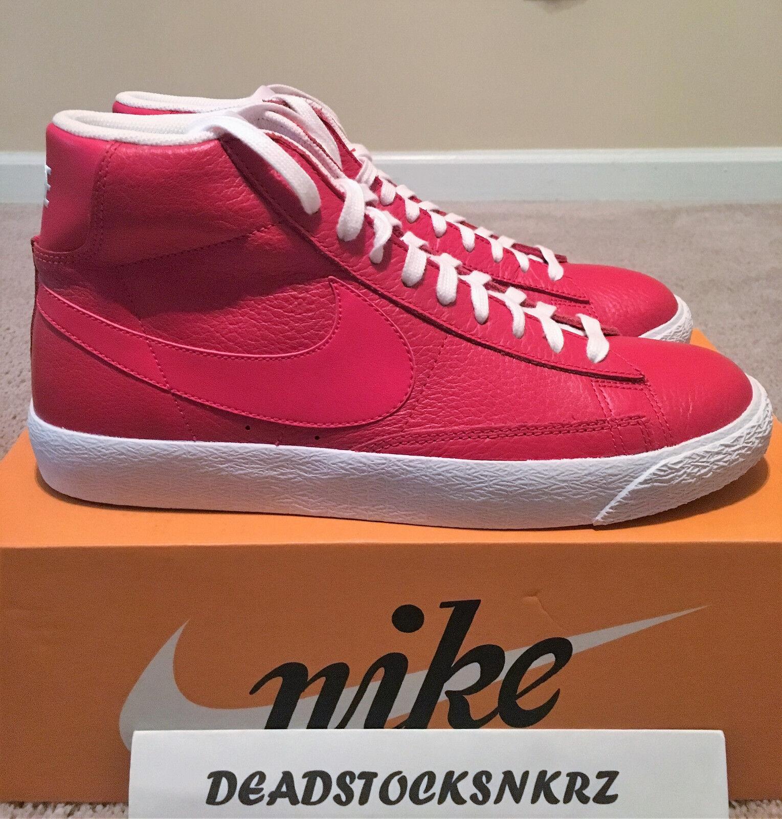 Nike Blazer Mid Premium Game Red 429988 604 Men's Sizes 9.5-12