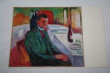 Edvard Munch - Selbstportrait - AK Postkarte Ansichtskarte