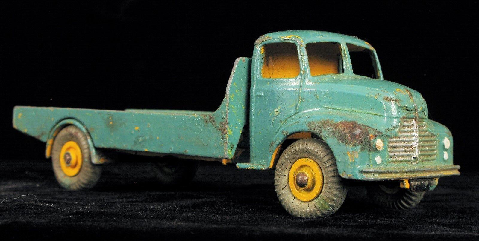 Antique Dinky Supertoys Leyland Comet Fabriqué en Angleterre Meccano 533 Vert