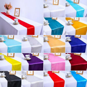 Table-Runner-Cloth-Wedding-Birthday-Reception-Banquet-Party-Home-Decorations