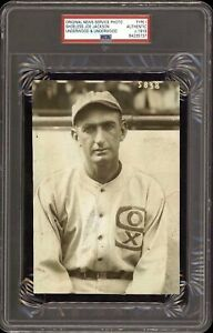 Shoeless-Joe-Jackson-1919-Chicago-Black-Sox-Type-1-Original-Photo-PSA-DNA-RARE