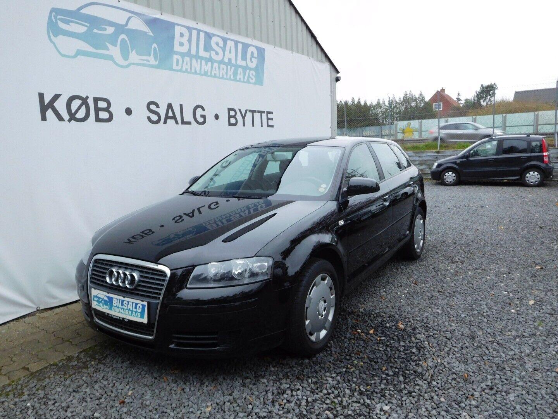 Audi A3 1,6 Attraction SB 5d - 74.800 kr.