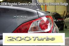 2009 2010 2011 2012 2013 2014 Hyundai Genesis Coupe OEM 200 Turbo emblem badge