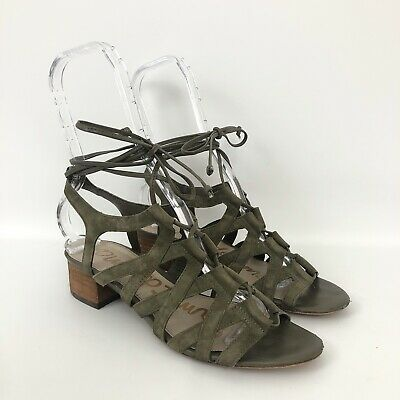 Sam Edelman Womens Size 7 Green Boyden