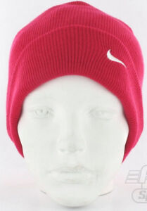 eb34ba37f Nike Warm Winter Slouch Swoosh Beanie Knitted Wooly Hat Junior ...