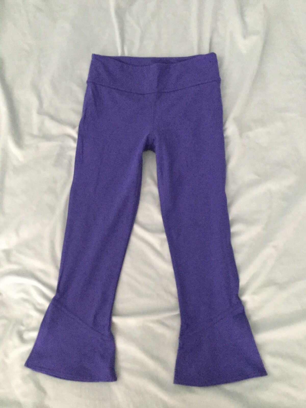 NEW Free People Movement Flared Cropped Active Leggings Size XS S Purple